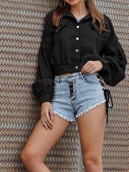 Black Long Sleeve Jacket